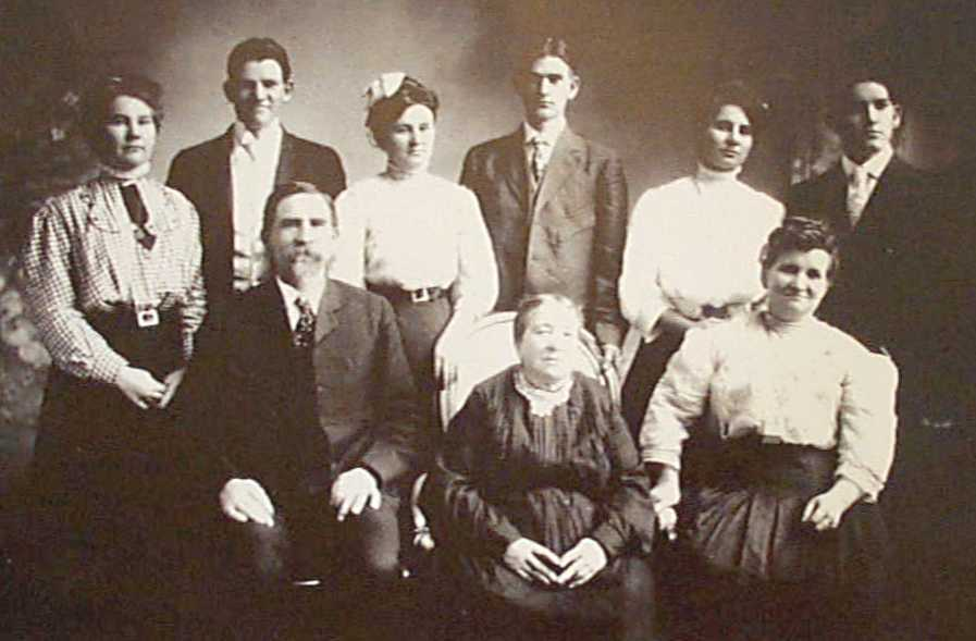 Hyrum Smith Family Picture